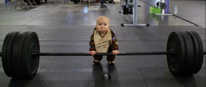 heavy lifting child (funny)